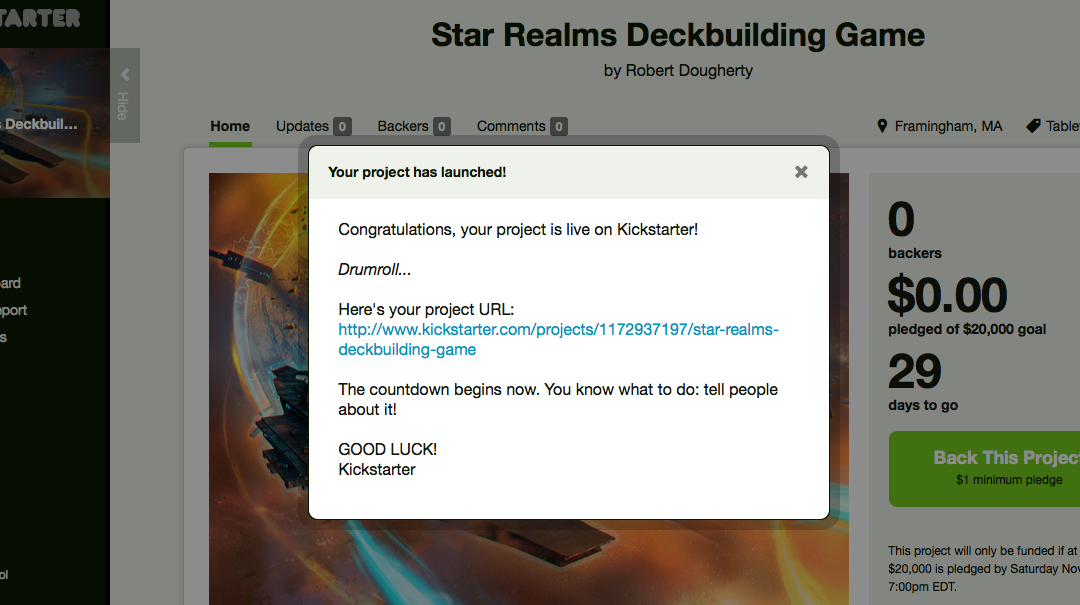 The Star Realms Kickstarter has launched!