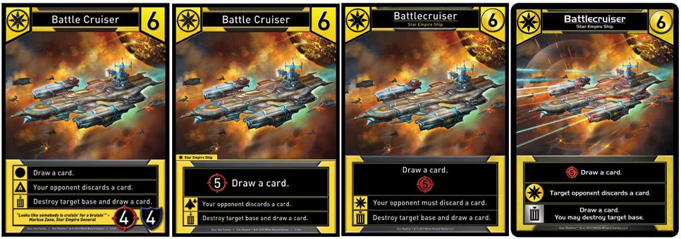 The Evolution of Battlecruiser