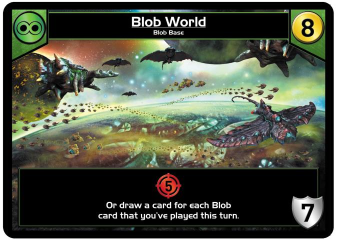 Blob Preview Week – Mothership and Blob World