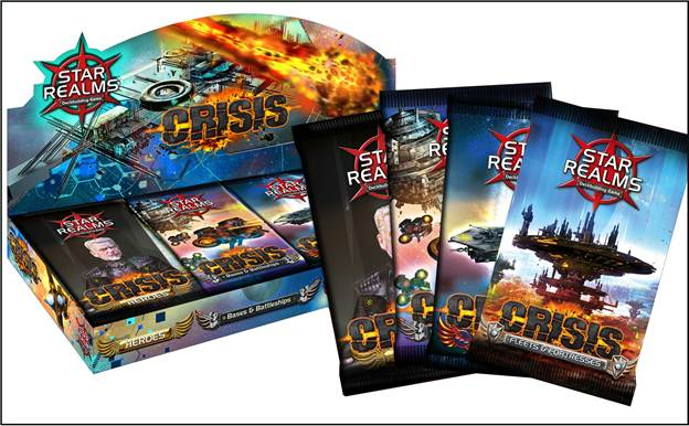 Crisis: Star Realms Expansions (T.O.S.) -  White Wizard Games