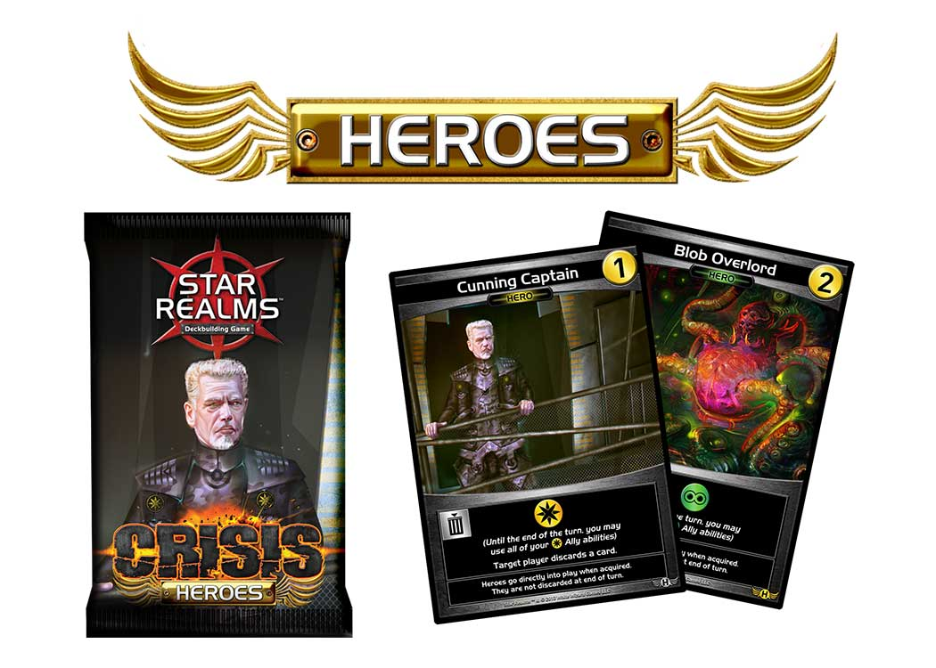 Crisis Expansions | Star Realms | Deck-Building Game