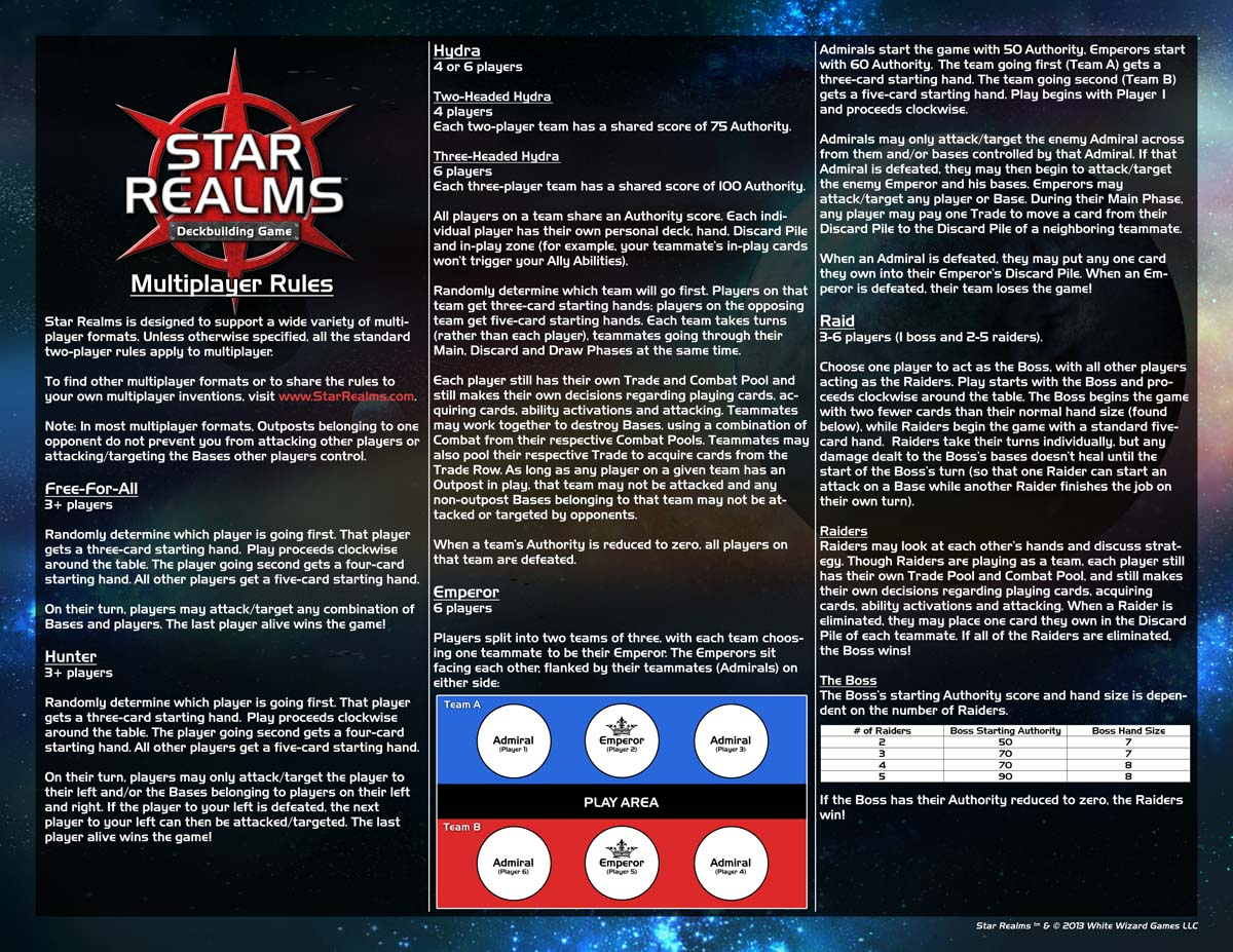 Learn To Play Star Realms Deck Building Game