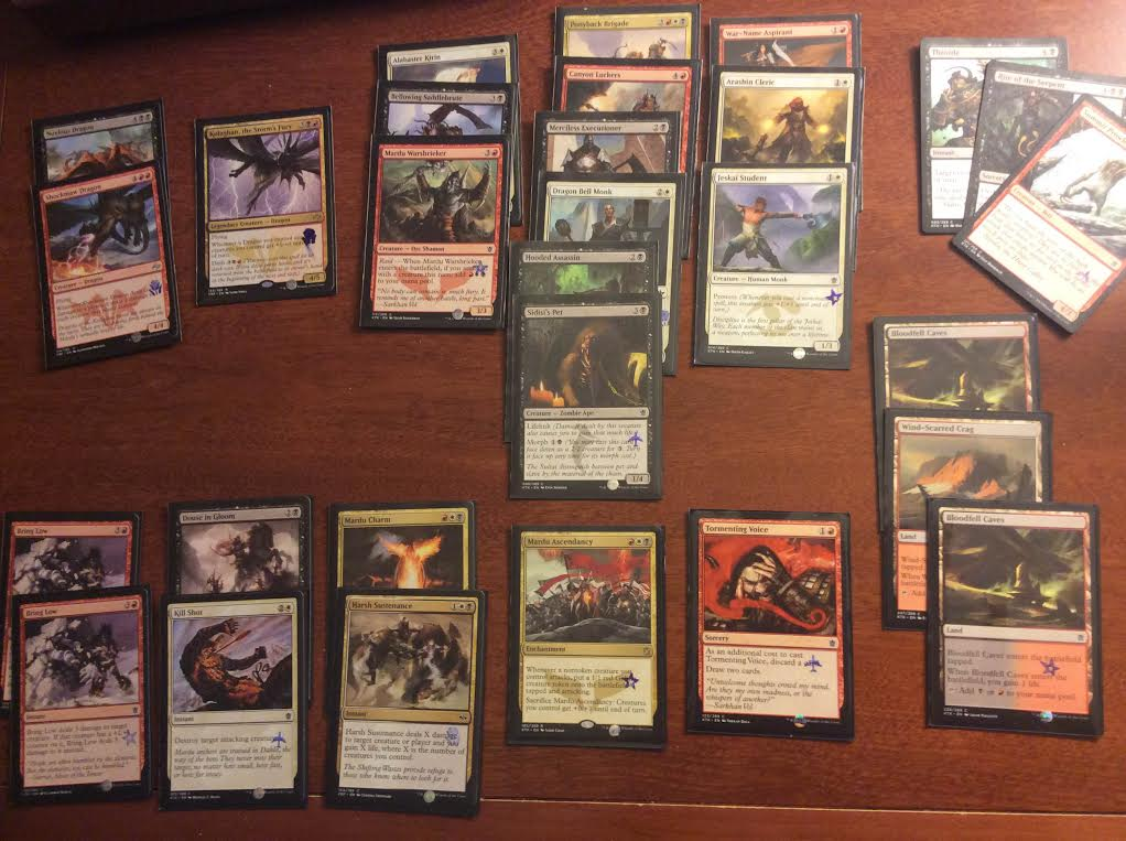 MTG PTFRF Draft deck
