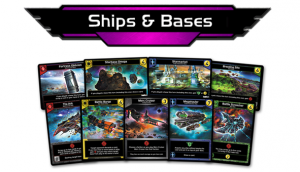Star Realms Gambit Ships and Bases