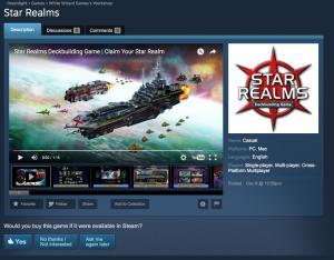 Star Realms on Steam Greenlight