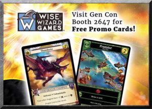 Promo cards for Gen Con