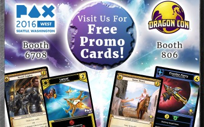 White Wizard Games at DragonCon and PAX West!!!!
