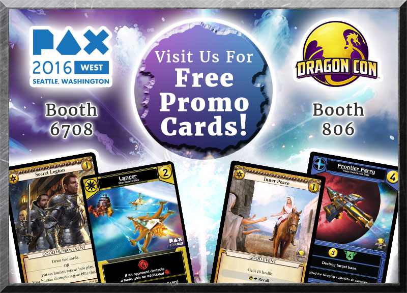 Wise Wizard Games at DragonCon and PAX West!!!!