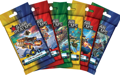 Become a legendary Star Realms Commander! Command Decks are in stores worldwide November 14.