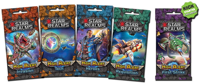 New Star Realms: High Alert coming to Kickstarter as an add-on!