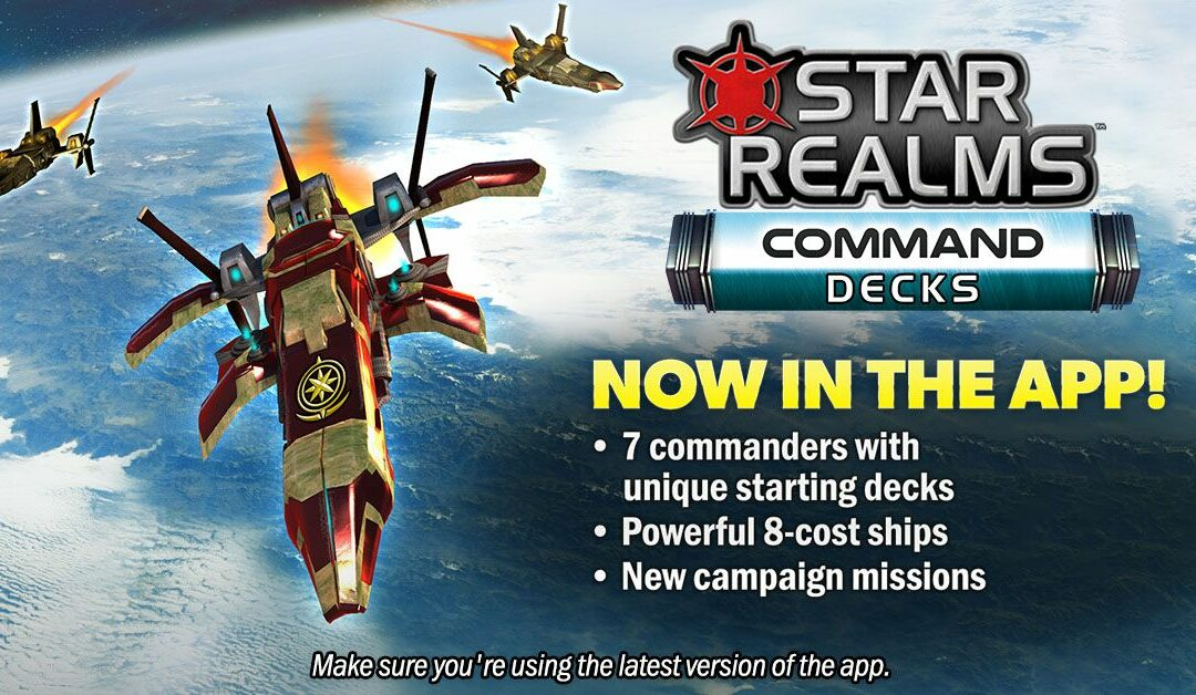 Star Realms Command Decks now in Star Realms Digital!
