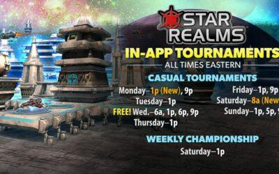 Star Realms Digital Tournaments – Three New Formats Added!